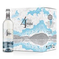 Вода питьевая 4 Воды негазированная 0.75 л (6 штук в упаковке)