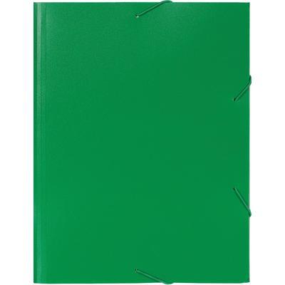 Папка на резинках Attache А4 30 мм пластиковая до 200 листов зеленая (толщина обложки 0.6 мм)