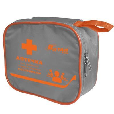 Аптечка первой помощи работникам Виталфарм (по приказу №169н, в сумке)