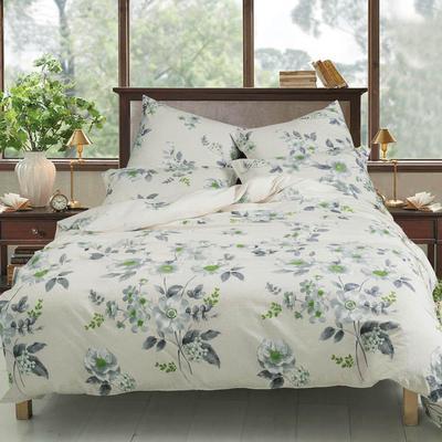 Постельное белье СайлиД A-188 (2-спальное с европростыней, 2 наволочки 70х70 см, поплин)