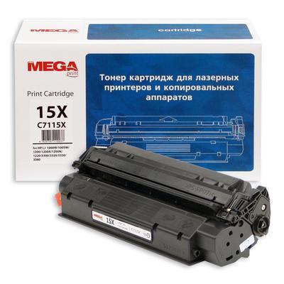 Картридж лазерный ProMEGA Print 15X C7115X для HP черный совместимый повышенной емкости