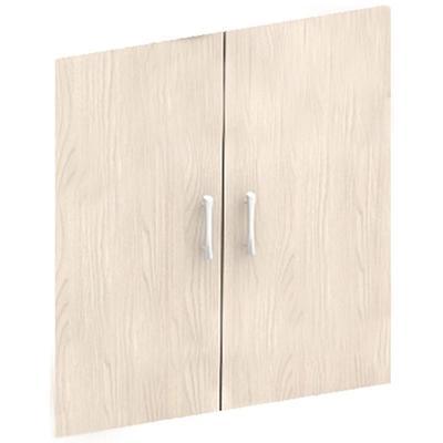 Двери низкие Канц ДК32 ЛДСП (дуб молочный, 692х16х697 мм, 2 штуки)