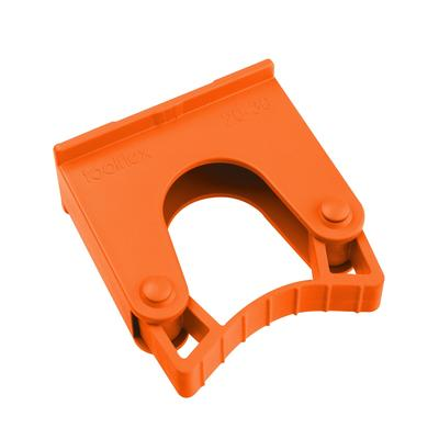 Зажим Hillbrush для щеток и рукояток оранжевый (артикул производителя HOLD 1 T)