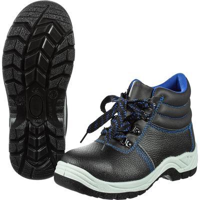 Ботинки натуральная кожа/искусственная кожа черные с металлическим подноском размер 37 (1116153)