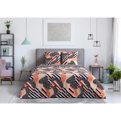 Постельное белье Этель Абстракция (1.5-спальное, 2 наволочки 50х70 см, перкаль 125 г/кв.м)