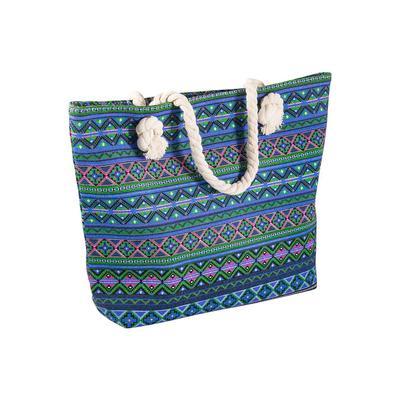 Сумка женская пляжная текстиль разноцветная (299468)