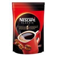 Кофе растворимый Nescafe Classic 220 г (пакет)