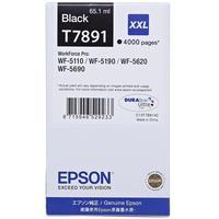 Картридж струйный Epson T7891 C13T789140 черный повышенной емкости оригинальный для WF-5110/5620