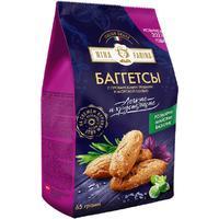 Сухарики Nina Farina Баггетсы со вкусом прованских трав и морской соли  (12 упаковок по 65 г)
