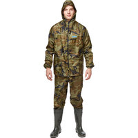 Костюм ПВХ Hunter WPL зеленый камуфляж (размер 60-62, рост 182-188)