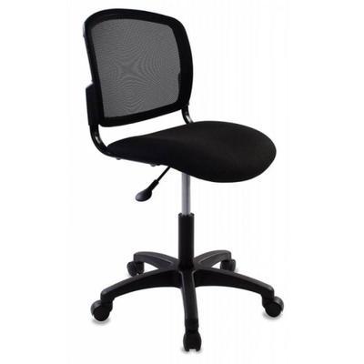 Кресло офисное Бюрократ CH-296NX/15-21 черное (ткань/сетка/пластик)
