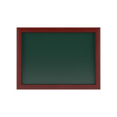 Доска магнитно-меловая 50x70 см Attache Wood лак (зеленая)