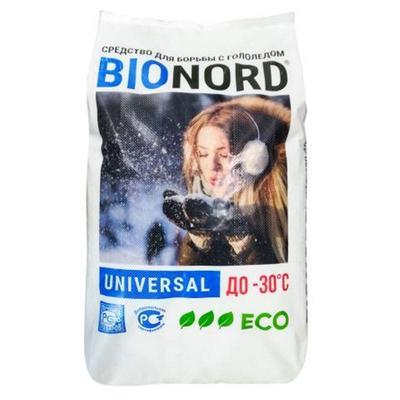 Реагент противогололедный Bionord Universal мешок 23 кг