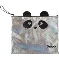 Папка для тетрадей №1 School Panda  А4 +, экокожа, вышивка