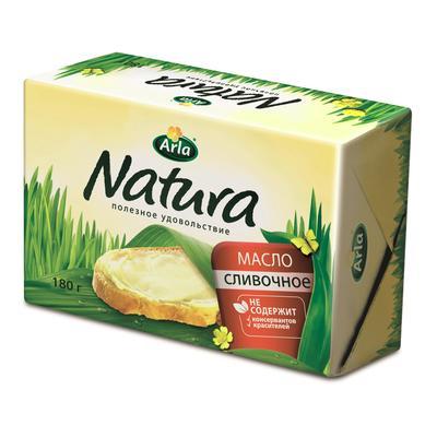 Масло сливочное Arla Natura  82% 180 г