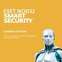 Антивирус NOD32 Smart Security Business Edition для 100 ПК на 12 месяцев (электронная лицензия, NOD32-SBE-NS-1-100)