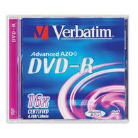 Диск DVD-R Verbatim 4.7 Gb 16x