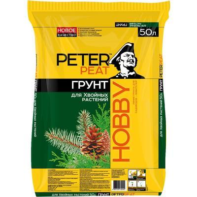 Грунт для хвойных растений Peter Peat Хобби 50 л