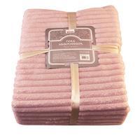 Плед Belezza Презент фланель 120x150 см розовый