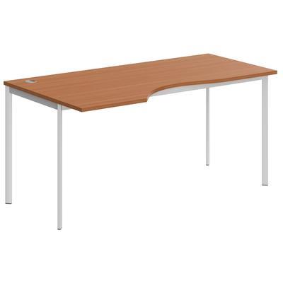 Стол письменный Imago S СА-1S левый (груша арозо, 1600x900x755 мм)