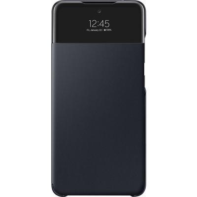 Чехол-книжка Smart S View Wallet Cover для Samsung A52 черный EF-EA525PBEGRU