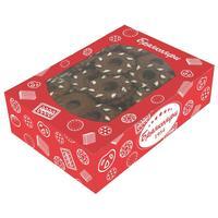 Печенье Брянконфи Нежные подснежники шоколадные 500 г