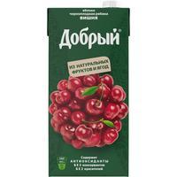 Нектар Добрый яблоко-черноплодная рябина-вишня 2 л