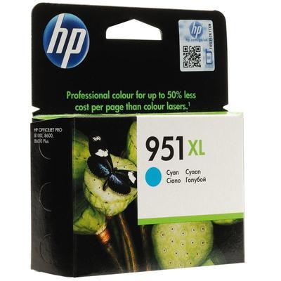 Уценка. Картридж струйный HP 951XL CN046AE голубой повышенной емкости оригинальный. уц_тех