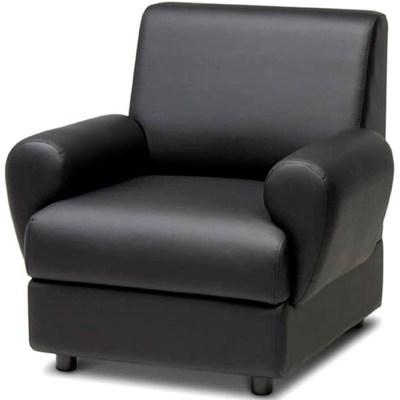 Кресло Матрикс черное (искусственная кожа)