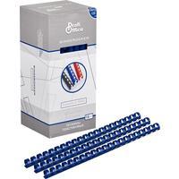 Пружины для переплета пластиковые ProfiOffice 16 мм синие (100 штук в упаковке)