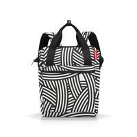 Рюкзак Reisenthel Reisenthel Allrounder R Zebra 12 литров черного\белого цвета (JR1032)