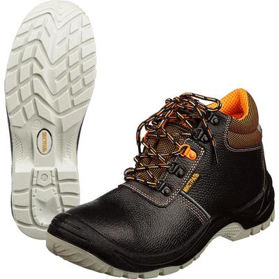 Ботинки Мистраль Ultra натуральная кожа черные размер 43