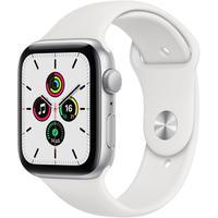 Смарт-часы Apple Watch Series SE серебристые MYDQ2RU/A