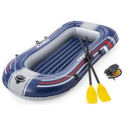 Лодка надувная Bestway с веслами и насосом 234х135 см