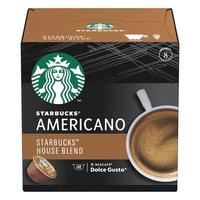 Кофе в капсулах для кофемашин Starbucks House Blend Americano (12 штук в упаковке)