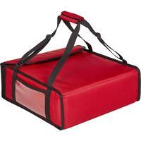 Термосумка для пиццы оксфорд красная 42х42х15 см