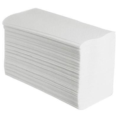 Полотенца бумажные листовые Viva V-сложения 2-слойные 20 пачек по 250 листов