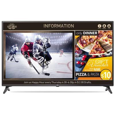 Телевизор LG 49LV640S черный