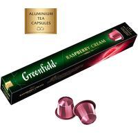 Чай в капсулах для кофемашин Greenfield Raspberry Cream (10 штук в упаковке)