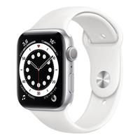 Смарт-часы Apple Watch Series 6 серебристые (M00D3RU/A)