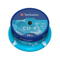 Диск CD-R Verbatim Extra Protection 700 Mb 52x (25 штук в упаковке)