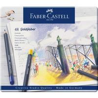 Карандаши цветные Faber-Castell Goldfaber 48 цветов круглые