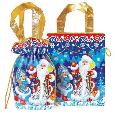 Новогодний сладкий подарок Морозко 500 г  (с магнитом)
