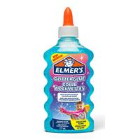 Клей для слаймов Elmers с голубыми блестками 177 мл