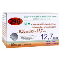 Иглы для шприц-ручек SFM 29G (0.33x12.7 мм, 100 штук в упаковке)