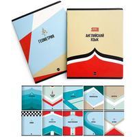 Набор предметных тетрадей Be Smart Sport А5 48 листов в клетку/линейку