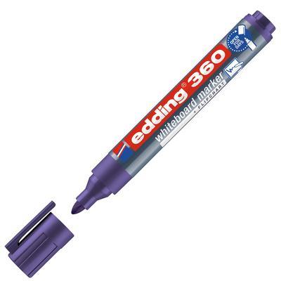 Маркер для досок Edding 360/8 фиолетовый (толщина линии 1,5-3 мм)