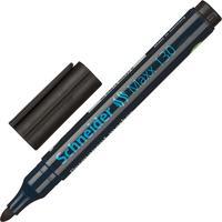 Маркер перманентный Schneider Maxx 130 черный (толщина линии 1-3 мм) круглый наконечник