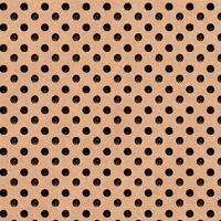 Бумага упаковочная Miland Горох коричневая/черная (10 листов в рулоне,  70x100 см)