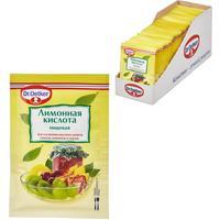 Кислота лимонная Dr.Oetker 8 г (50 штук в упаковке)
